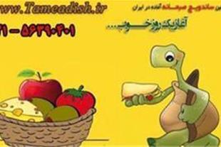 ساندویچ صبحانه آماده آدیش(برای اولین بار در ایران)