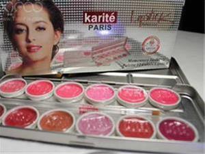 پالت 12 رنگی رژ لب Karite مخصوص گریم برای کسانی که - 1