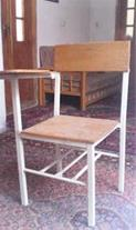 صندلی دسته دار دانش آموزی آکبند کیفیت بسیار عالی چ
