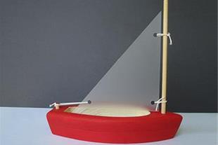 قایق چوبی دست ساز