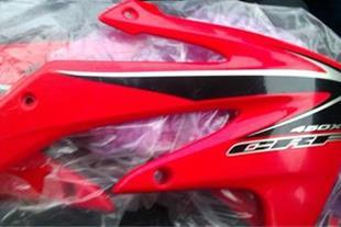 فروش فلاپ نو و اکبند CRFX450 مدل 2008
