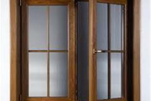 تولید درب و پنجره دو جداره رنگی