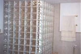 اجرای بلوک شیشه ای برای تزئین