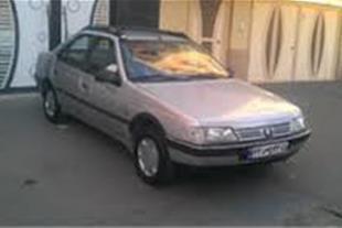فروش یک ماشین در حد صفر پژو405 دوگانه سوز نقره ای