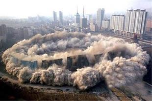 تخریب و خاکبرداری ساختمان