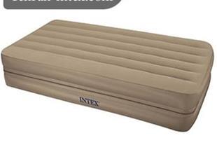 تخت بادی یک نفره زیپدار