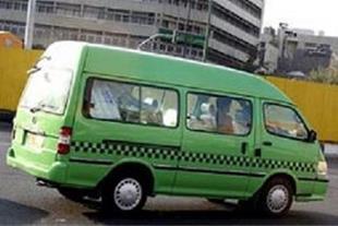 تاکسی ون غزال پلاک تهران