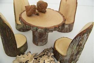 مبلمان سنتی چوب هدهد