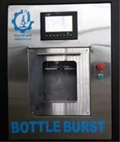 دستگاه تست فشار داخلی بطری های شیشه ای و PET