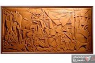 سفال نقش برجسته ( آیات قرآنی - شومینه - پرسپولیس –