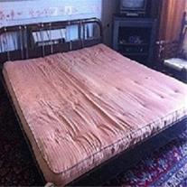 فروش یک دست تخت دست دوم در شیراز
