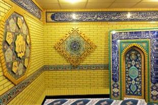 گروه طراحی طلیعه نور سازنده محراب چوبی مساجد