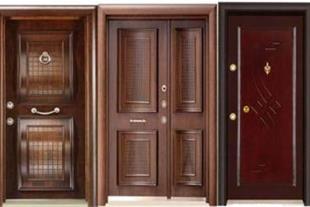 درب چوبی  ملچ 5میل 120000تومان -عرفان چوب
