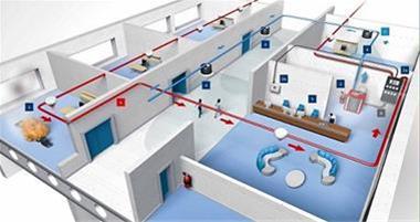 طراحی سیستم های اعلام و اطفاء حریق ساختمانی و صنعتی