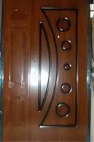 درب چوبی 8 میل PVC لیزری  عرفان چوب