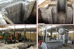 اجرای سازه های بتنی و فلزی فونداسیون صنعتی