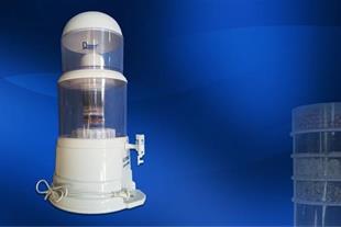 دستگاه تصفیه آب کلمنی به همراه آب سردکن