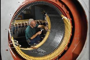 تعمیر و سیم پیچی الکتروموتور و موتور الکتریکی