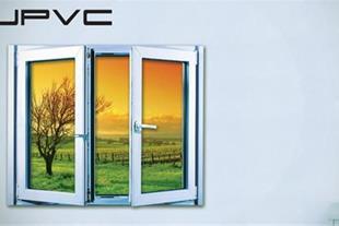 ساخت پنجره upvc دو جداره با پروفیل ایرانی و خارجی