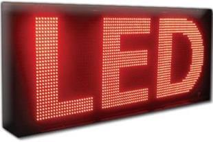 نصب وتولید انواع تابلو های روان LED درقزوین - 1