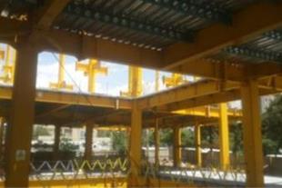 طراحی و اجرای سقف های عرشه فولادی