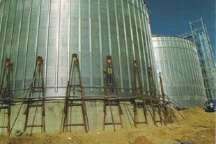 طراحی ساخت نصب و راه اندازی سیلو فلزی ذخیره غلات