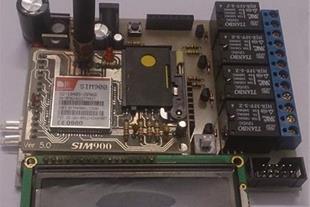 دستگاه کنترل لوازم برقی با SMS