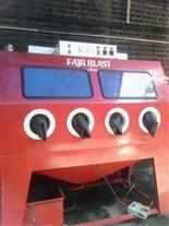 دستگاه سند بلاست بدون غبار