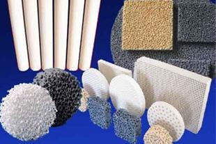 انواع فیلتر فوم های سرامیکیCeramic Foam Filter