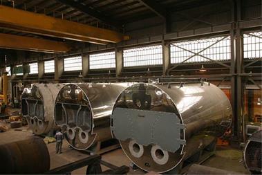 تعویض لوله دیگ بخار کارخانه جات یونولیت - 1