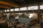 تعویض لوله دیگ بخار کارخانه جات یونولیت