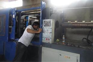 تزریق پلاستیک 1500 گرم (380 تن) منصوریان