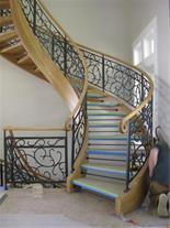 طراحی و ساخت پله گرد - پله پیچ - پله مارپیچ