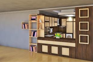 طراحی کابینت واحد مسکونی واقع در خیابان امین
