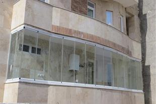 تولید کننده سیستمهای شیشه بالکن ریلی