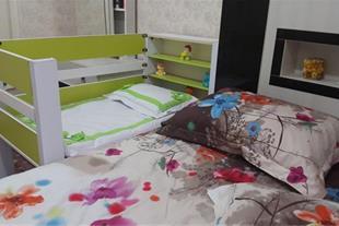 تخت نوزاد کنار مادر . (سیسمونی نوزاد و سرویس خواب) - 1