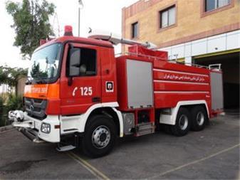 تجهیز ماشین آتش نشانی,خودرو آتش نشانی - 1