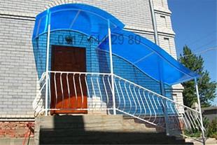 ساخت سایبان پلی کربنات در شیراز