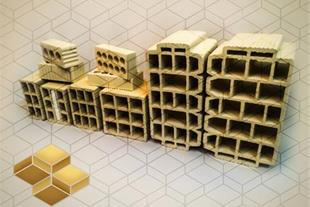 انواع بلوک سفال (دیوار- سقف )
