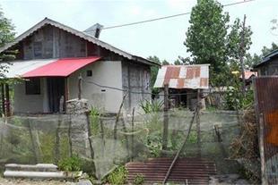 خانه روستایی 70 متری شهرکی  300 متر زمین در سیاهکل
