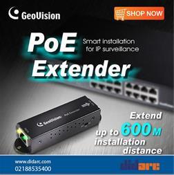 فروش دستگاه توسعه سوئیچ ژئوویژن Geovision POEX0100
