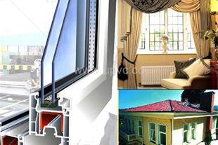 ساخت و تولید درب و پنجره دو جداره U.P.V.C