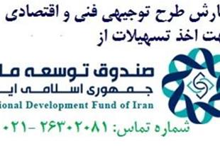 تامین مالی طرح های توجیهی از منابع صندوق توسعه ملی - 1