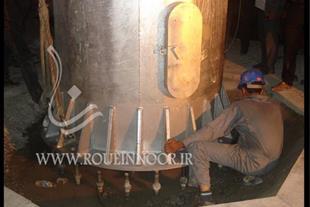 عملیات نصب برج