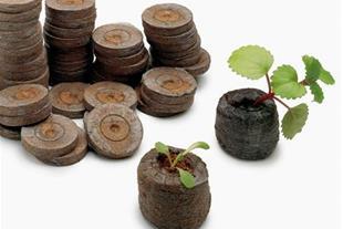 فروش  جی فی پلیت یا گلدان فشرده جیفی برای کاشت بذر