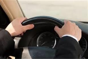 راننده شخصی با اتومبیل