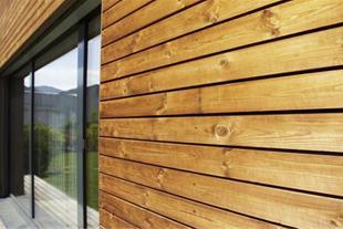 چوب نمای ساختمانی ترموود