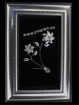 تابلو گل نقره فروش عمده و تکی توسط زیوران