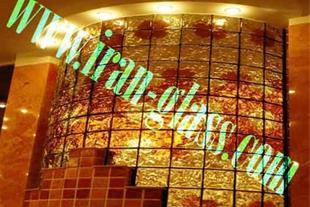 تایل شیشه دکوراتیو