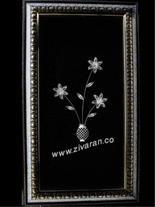 تابلو گل نقره قیمت مناسب ساخت و عرضه توسط زیوران